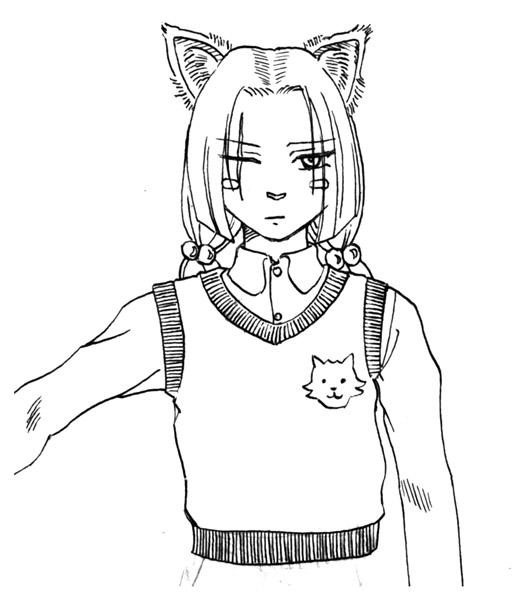 渋柿(一)  CG