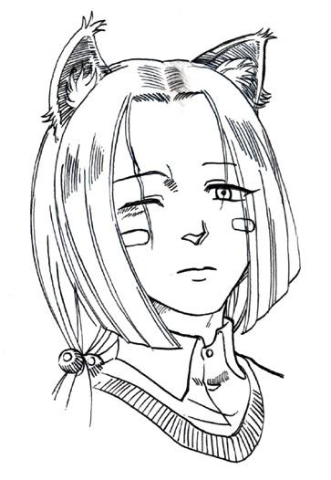 渋柿(二)  CG