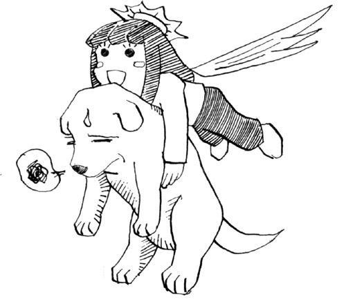CHIBI犬ミサイル(kataribe-ml 23007)  CG