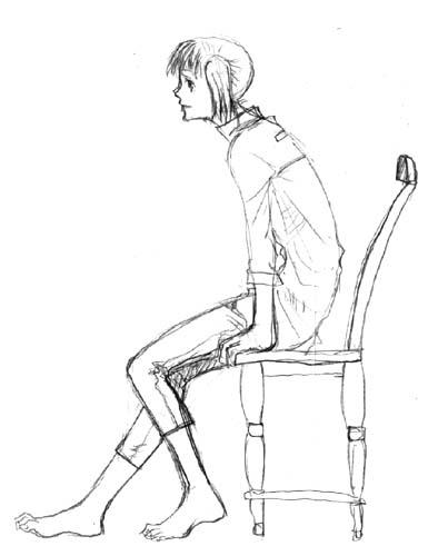 椅子とつみき  CG