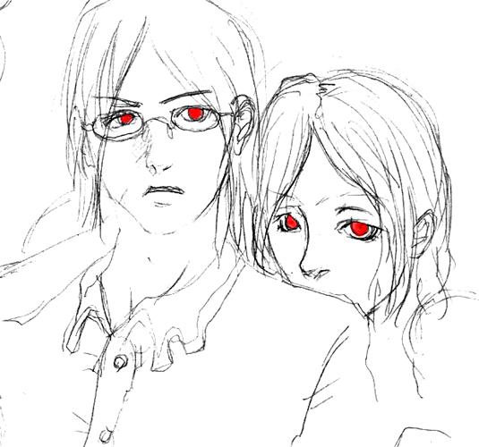 セイクロウとリャナンシー  CG
