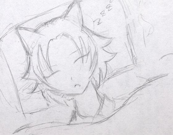 煌・おやすみ中  CG