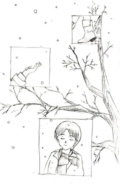 kiss of snow  CG