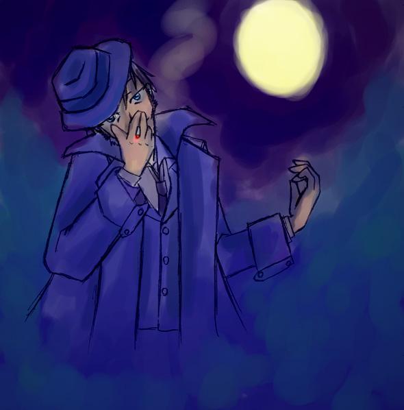 月と夜とデビル御堂  CG
