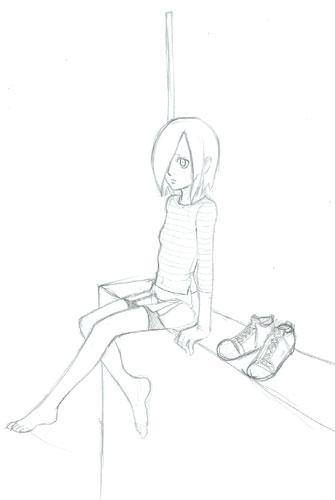 屋上ひとめ  CG