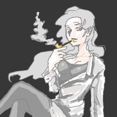 煙の先生  CG