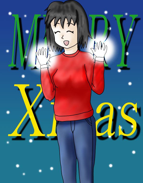 しろいクリスマス  CG