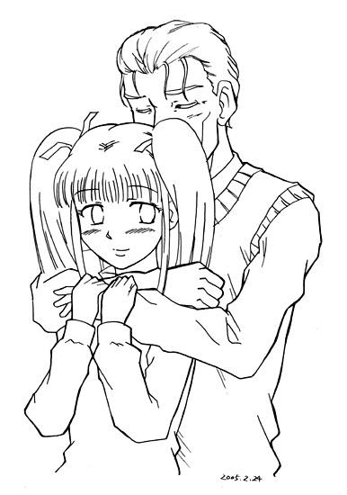 抱擁 CG