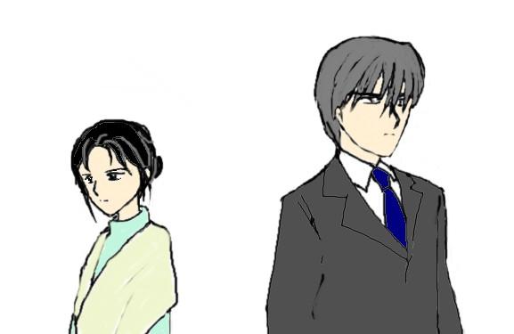 真帆相羽マウス画  CG