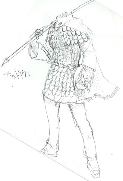 #12 プラエトリウス(皇帝親衛歩兵)  CG