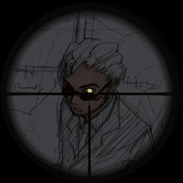 護牢スーツラフ  CG