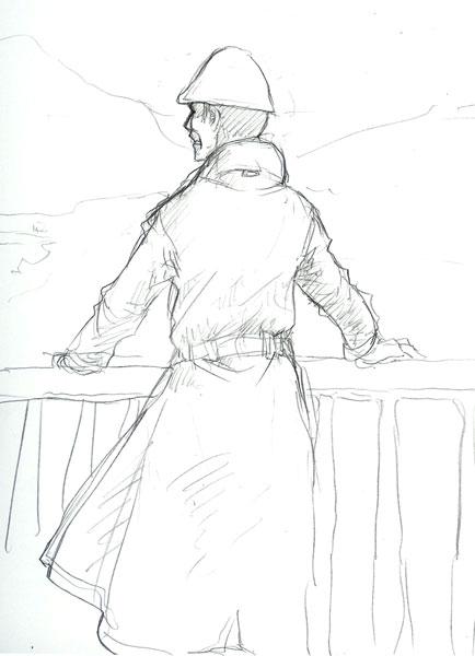 平田さんラフ  CG
