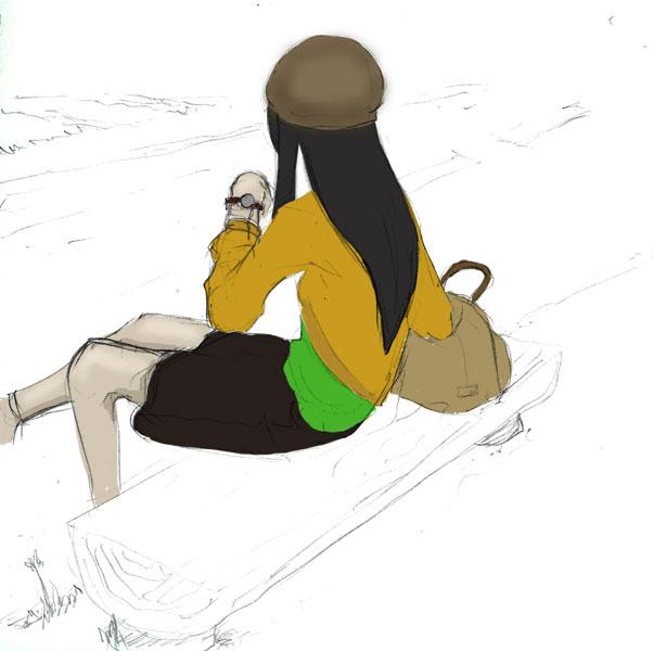 茉莉菜待ちぼうけ CG