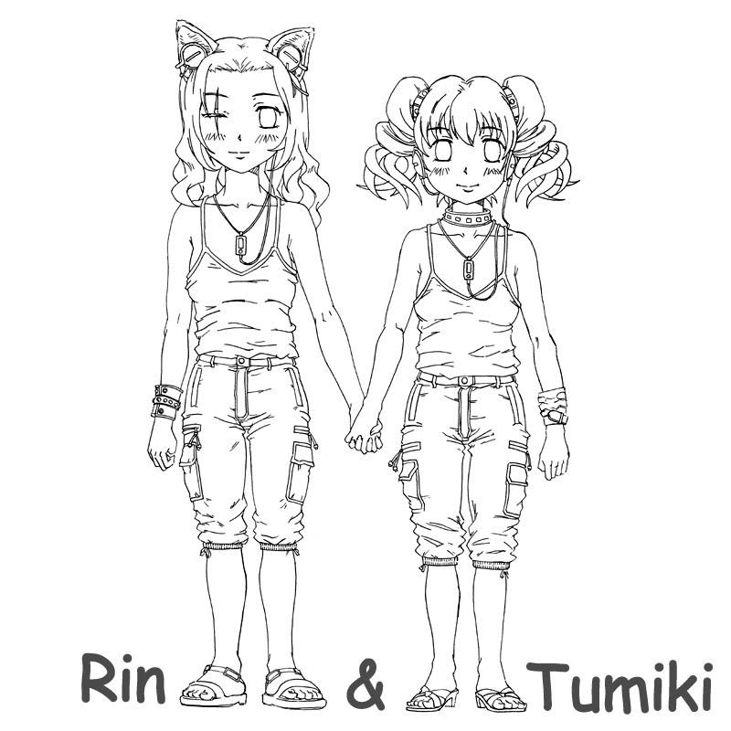 Rin&Tumiki  CG