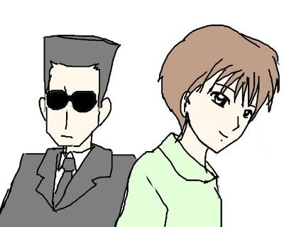 おめでと前野さん&達大さん CG