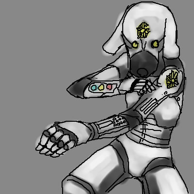 ひらきなおってまんま犬  CG