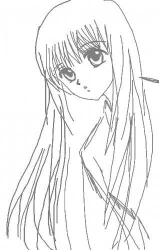 麻須美お母さんの若い頃 CG