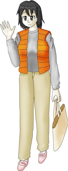 白神知佳(Wikiキャラページ用) カラー  CG