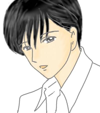 尚久父さんの若い頃 CG