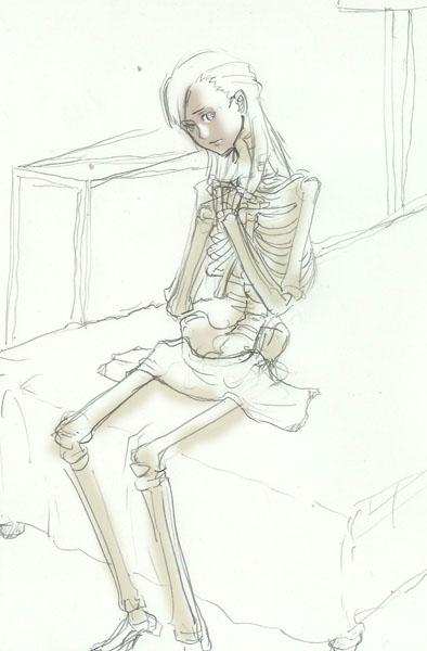 樫屋サトミ、全裸  CG