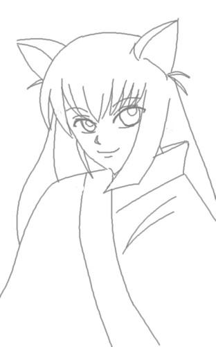 狐姫さま CG