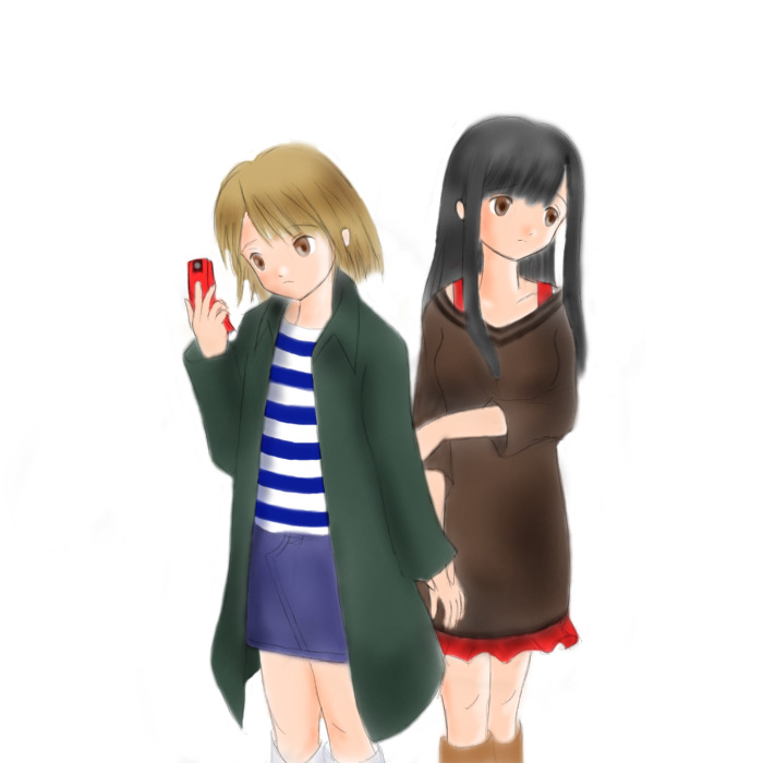 恋人同士の10題 9 そっぽを向く CG
