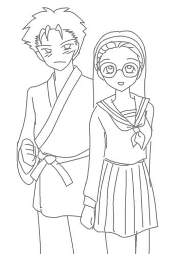 芳弘と和枝 CG
