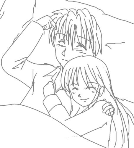 おやすみなさい CG