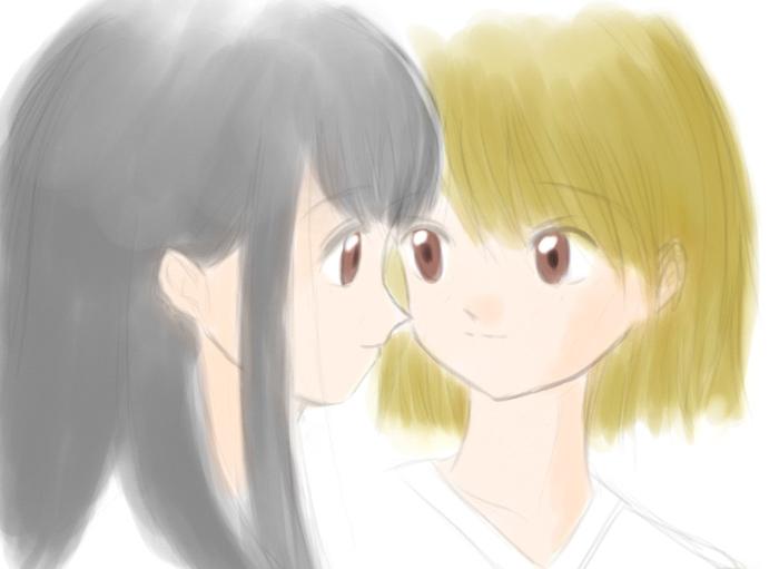 恋人同士の10題 3 デコピタ CG