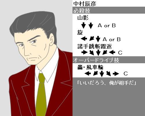 中村辰彦キャラ性能 CG