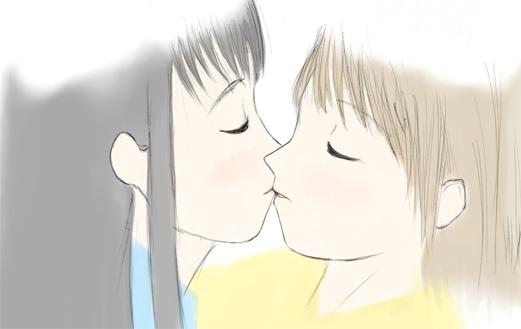 恋人同士の10題 10-2 みぎーの妄想 カラー  CG