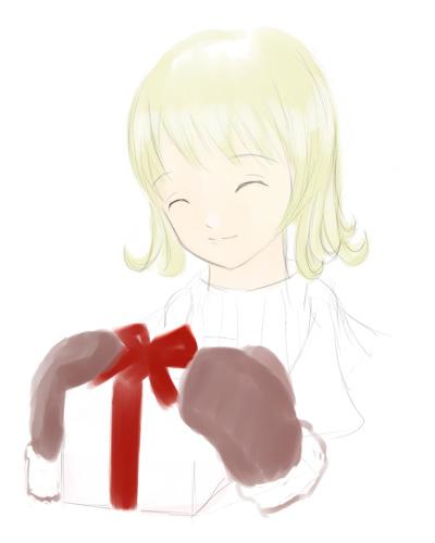 きっと誕生日ラフ  CG