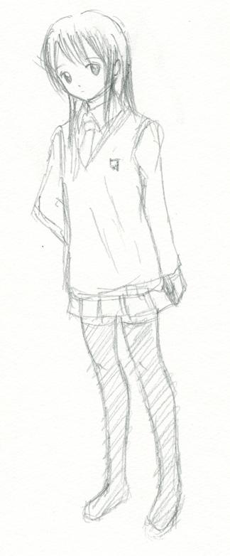 高校生トオク案  CG