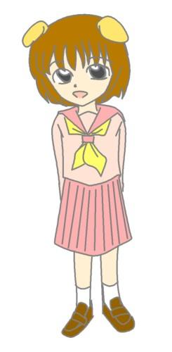 みかんちゃん色つき  CG