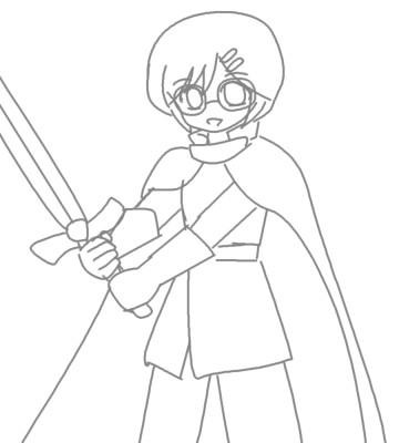 聖剣とロード CG