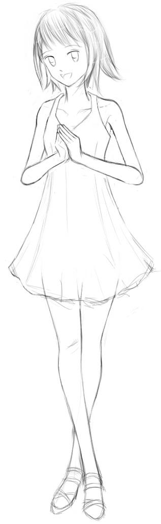 サマードレスでナマステ  CG