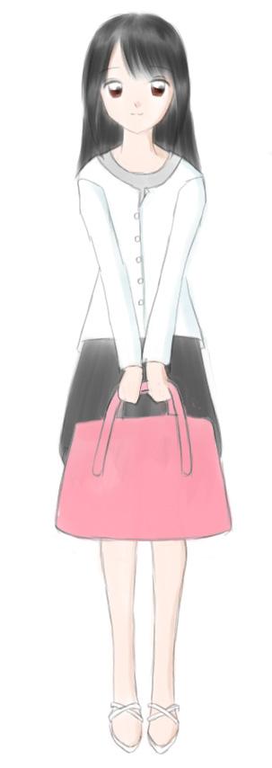 布津唄さん カラー  CG