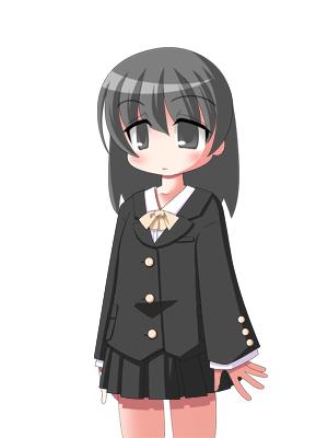 キャラクターなんとか機による黒亜  CG
