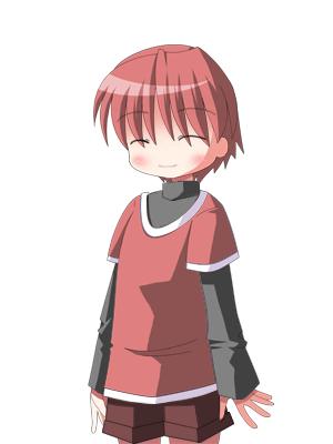 キャラクターなんとか機で豆柴(ちび) CG