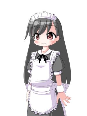 キャラクターなんとか機による茉莉菜さん  CG