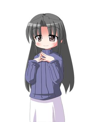 キャラクターなんとか機で眞由美さん CG