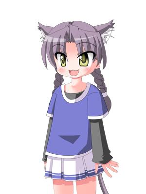 キャラクターなんとか機による美子さん  CG