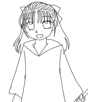 魔女子10歳  CG
