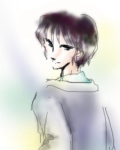 初谷凪のその昔  CG