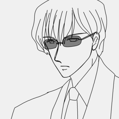 萌え記号「伊達眼鏡」 CG
