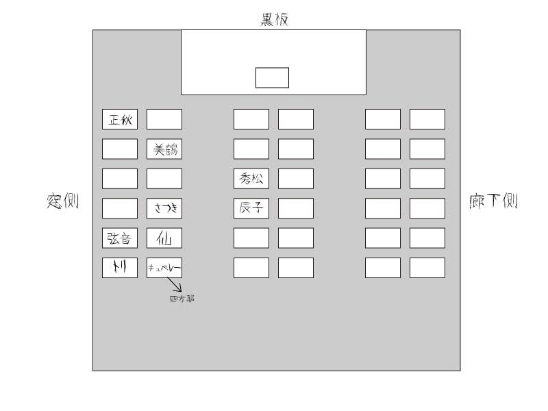 座席表 2008-09-28  CG