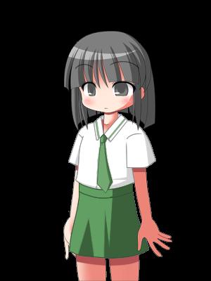 キャラクターなんとか機による松宮沙津姫  CG