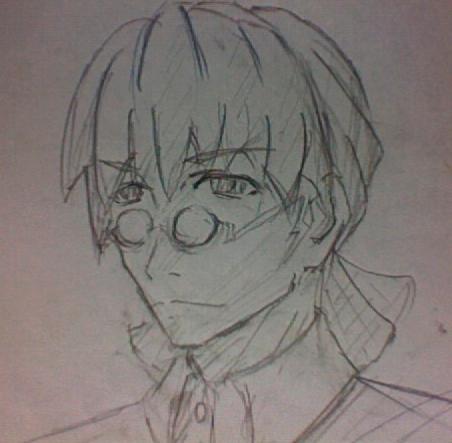 シューマツの兄、秀明  CG