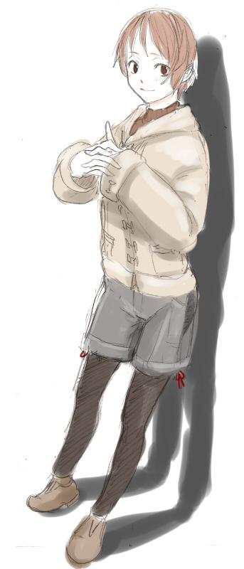 トオクさん 冬服のエロス  CG