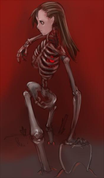 骨と肉  CG